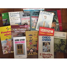 Lote Livros Literatura Brasileira R$6,00 Cada. Bom Estado!