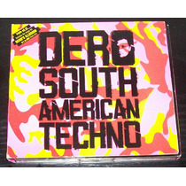 Dj Dero South American Techno Cd Triple Ed. 2005 Casi Nuevo!