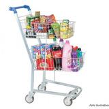 Carrinho Supermercado Duplo 90 Litros