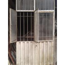 Puerta Chapa Doble Con Ventanas Regalo A $ 990