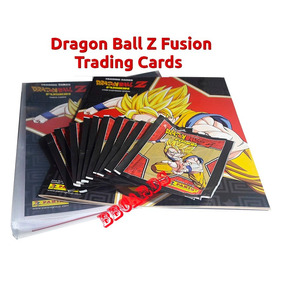 Kit Cards Dragon Ball Z Fusion Pasta Álbum 10 Envelopes