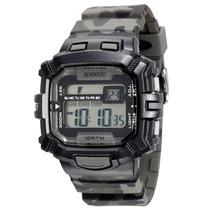 Relógio Masculino Speedo, Digital Caixa De 4,8 Cm