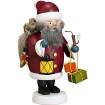 Decoración Alemán Incienso Fumador De Santa Claus, Altura 1