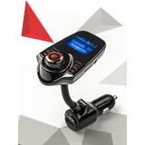Transmisor Bluetooth A Fm T10 Manos Libres Soporta Microsd