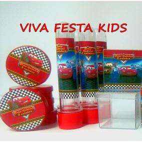Kit Festa C/ 30 Latinhas+30 Tubetes+30 Caixinhas De Acrílico