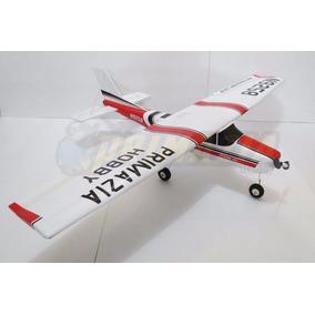 Aeromodelo Cessna 182 120cm Montado E Entelado Arf Treinador