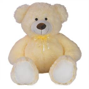 Urso De Pelúcia 73cm Creme - Grande