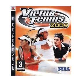 Virtua Tennis 2009 Ps3 Usado Original Midia Fisica