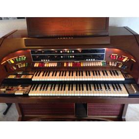 Orgão Lowrey H25-3 1976 Valvulado Import. California C/ Nota