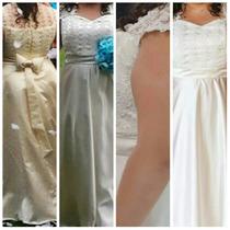 Vestido De Noiva Tam 46/48 Ajustável