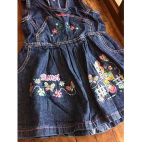 Vestidos Para Niñas De Blue Jeans Tallas 2-4-6-8-10-12