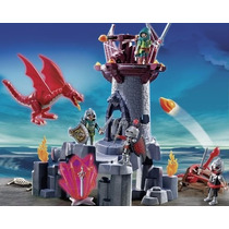 Playmobil 5984 Knights Caballeros Y Castillo Del Dragon