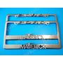 Porta Placas Ford Maverick 289 - 302 Metalicos Emblemas