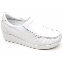 Sapato Feminino Em Couro Usaflex Original 5743 Loja Pixolé