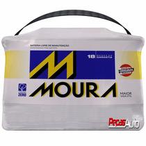 Bateria Moura 60 Ah Nova C/ Nota Fiscal 18 Meses De Garantia
