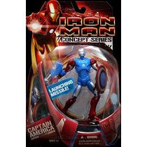 Iron Man Conceps Series Armadura Capitan America Marvel