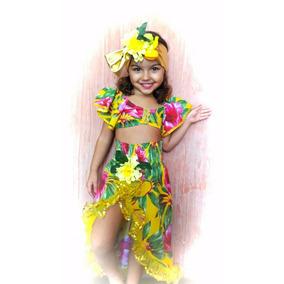 Fantasia Carmem Miranda Tropical Pp (1 A 2 Anos)