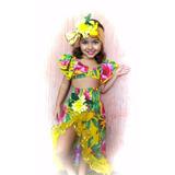 Fantasia Carmem Miranda Tropical P (2 A 4 Anos)