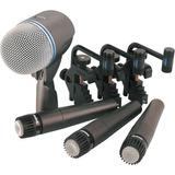 Shure Kit De Micrófonos De Batería * 3 Sm57 + 1 Beta52a *