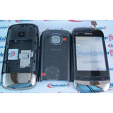Carcaça Nokia C2-06 Preta + Chassi + Touch Screen Completa