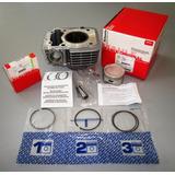 Kit Cilindro Completo C Piston Std Mahle Cg Titan 150 - Fas
