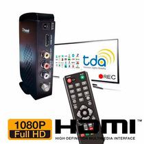 Decodificador Sintonizador Tv Tda Hdmi Rca Full Hd Grabacion