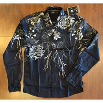 Camisa Mcd Dark Flowers Manga Longa Coleção Verão 16/17