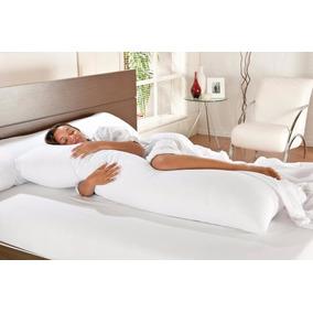2 Travesseiro De Corpo Gestantes Gigante C/ Capa Protetora