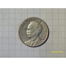 Cuba 25 Centavos Plata 1953 Muy Linda