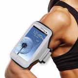 Brazalete Estuche Gris &manos Para Samsung Galaxy Beam 2