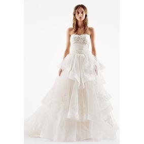 Vestido De Noiva Vera Wang Off White