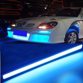 Barras De Led Stop Cuartos Rojo Y Azul Luz De Dia Drl Autos