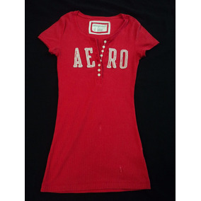 Hermosa Playera Aeropostale T- S Stretch Original