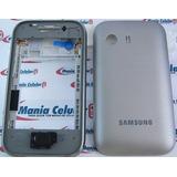 Carcaça Samsung S5360 Galaxy Y + Chassi + Botões Completa