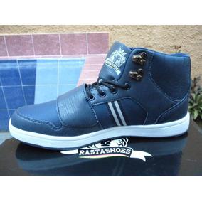 Remate Botines Rasta Shoes Reto-003 Azul Originales Zapatos