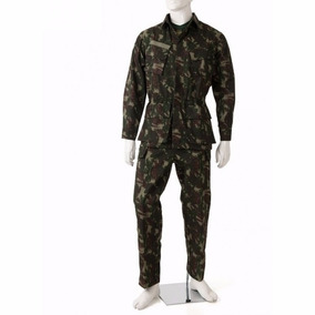 Farda Militar Camuflada Exército Brasileiro Tática