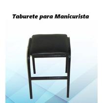 Silla Taburete Barberia Manicurita Peluqueria