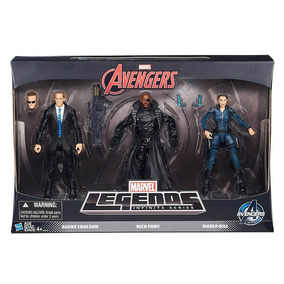 Bonecos Os Vingadores Legends Com 3 Personagens Hasbro