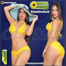 Traje Baño Damas Ultima Moda 2017 Bikini Hilo Dcto Mayor