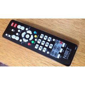 Controle Remoto Original Para Net Digital E Hd Max + Pilhas