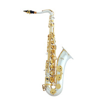 Saxofone Tenor Bb Prateado C/ Chaves Laq. - Quasar Qts102sl