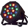 Foco Par 18 Led Alta Luminosidad Rgb Dmx 18x1w Gocyexpress