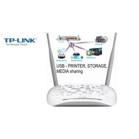 Modem Adsl2+ Roteador Wireless Tp-link Td-w8968 C/ Usb E 3g