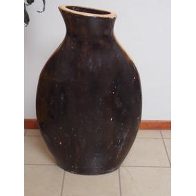 jarrn de barro grande de varios colores