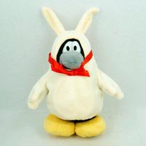 Club Penguin Pelucia Coelho Pinguim Sem Moeda