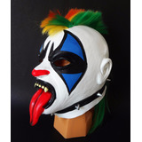 Psycho Clown. Máscara De Latex. Psycho Circus Luchadores