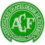 Patch Bordado Escudo Futebol Chapecoense 8,5cm Tms30