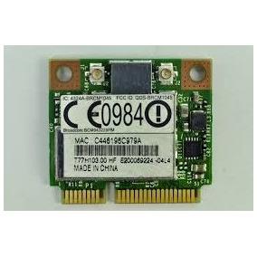 Placa Wi Fi Acer Broadcom Mod: Brcm1045