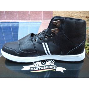Botines Rasta Shoes Reto-001 Negro Original Zapatos Calzado
