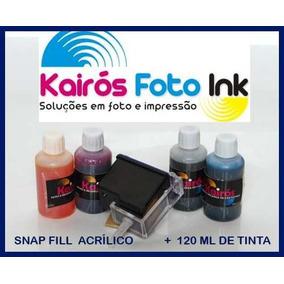Kit Reracrga, Hp, Canon, Lex, + Snap Fill, + Tinta